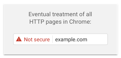 Google Chrome's planned HTTP security warning