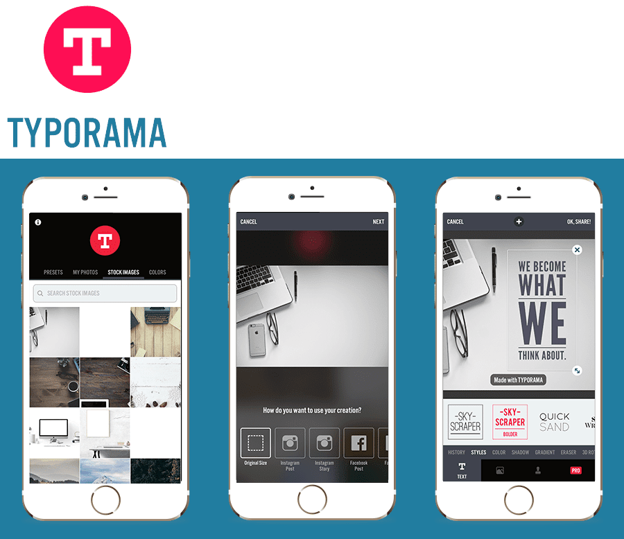Typorama - Bespoke Instagram Posts