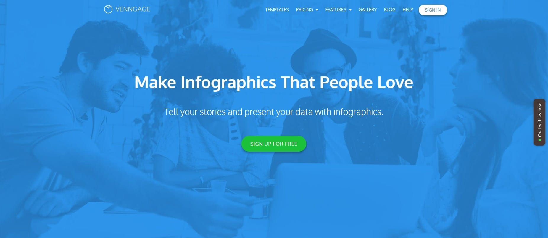 Vennage - Make infographics that people love