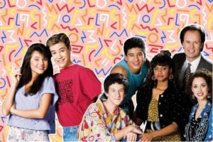 1990's Culture - Saved by the Bell Cast